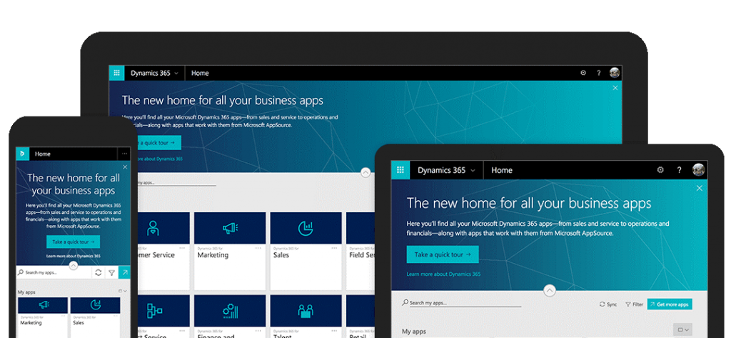 Dynamics 365 business central all devices